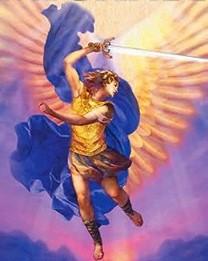 Ærkeenglen Michael med sværd